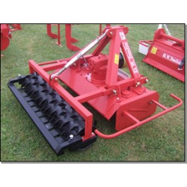 Rotary Power Harrow with Crumbler or Packer Roller - 1.30m - 20hp