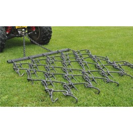 6ft - 3 Way Chain Harrow trailed