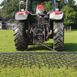 8ft Chain Harrow trailed
