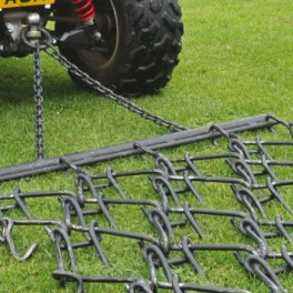 4ft - 3 Way Chain Harrow trailed