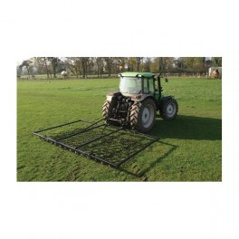 10ft - 3 Way Mounted Harrow, Folding Wings - Double Depth