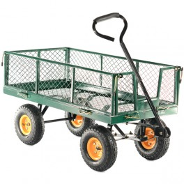 300kg Hand Cart with Drop Down Sides