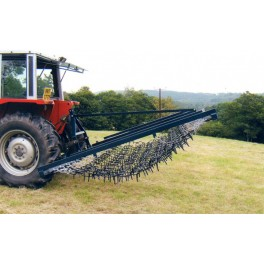 8ft Mounted Flexible Chain And Spike Harrow