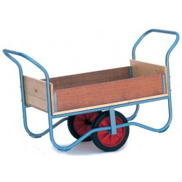 Garden Hand Trolley with  Sides