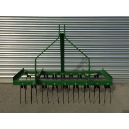 4ft Wide Spring Tine Harrow (2 Rows)