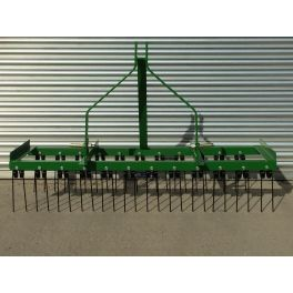 9ft Wide Spring Tine Harrow (2 Rows)