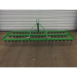 8ft Wide Spring Tine Harrow (3 Rows)