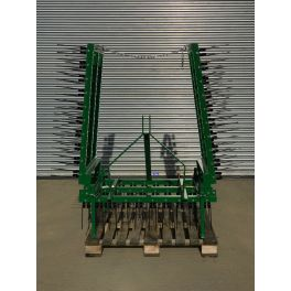 12 Ft Spring Tine Harrows with Folding Wings