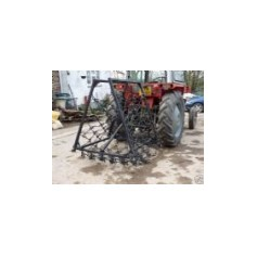 "11mm Double Length 7'6"" Professional Range- Fixed Folding Mounted Harrows"